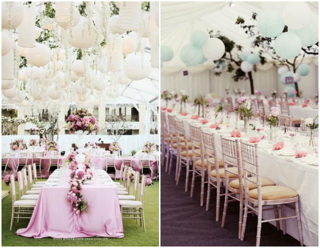 lampioane decorative nuntă