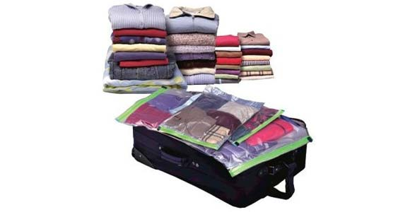 Saci de vidat haine – economisește cu până la 75% spațiu în dulap