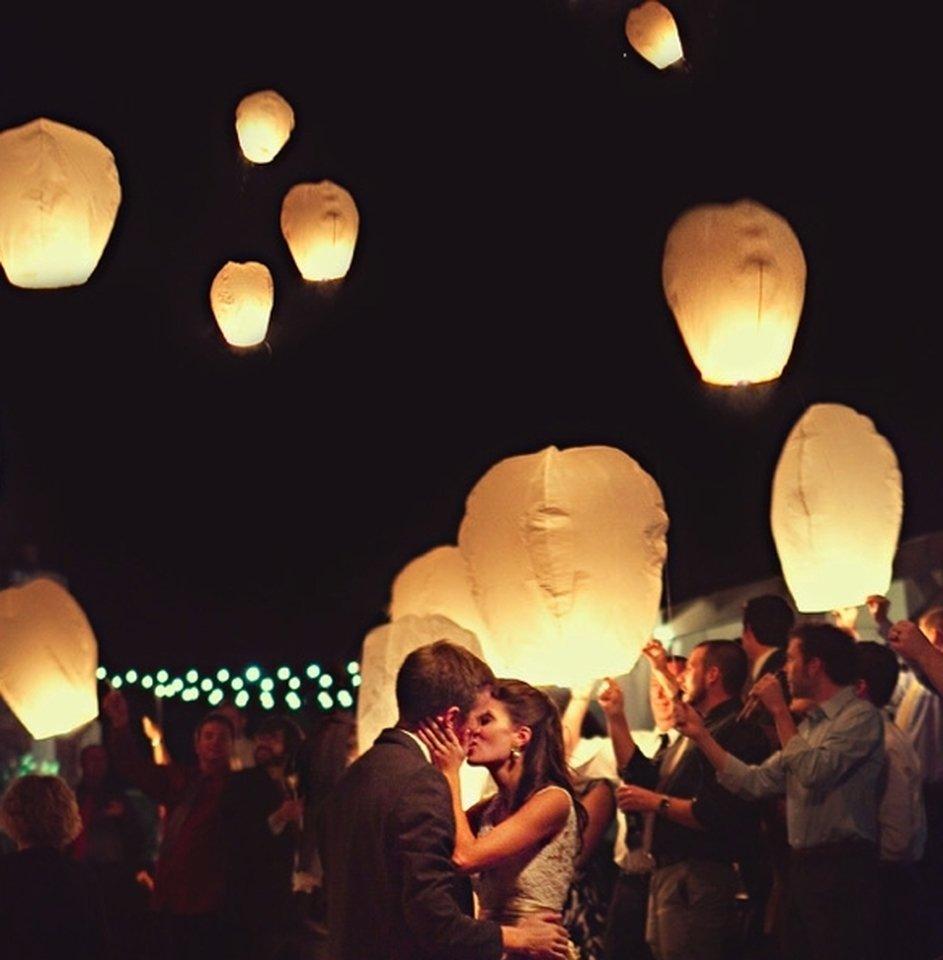 lampioane zburătoare nuntă