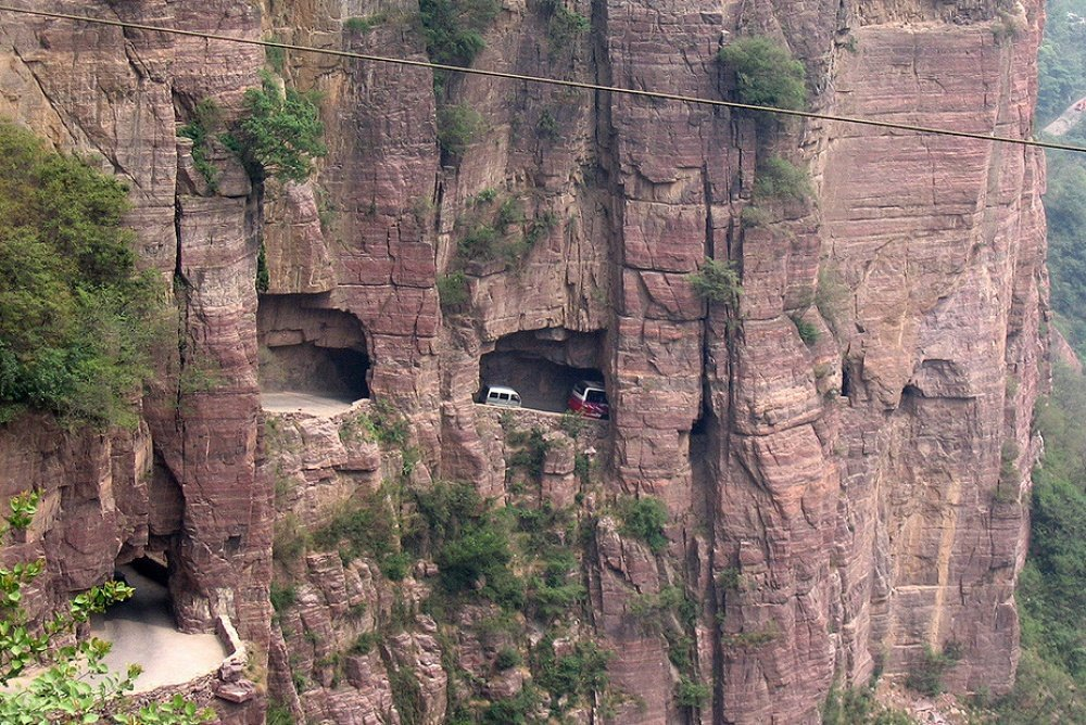 tunnel china